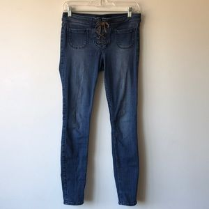 Hollister Lace Up Jeans